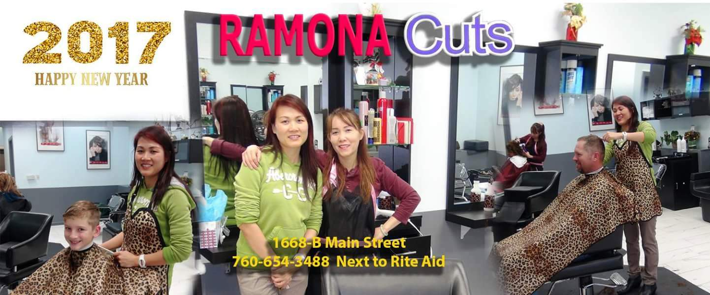 Ramona Cuts Hair Salon: Visit us for your Hair Salon; Haircuts, Hair Style, Skin Care, Eye Brow Wax, Hair Perms Coloring &High Lights - local in Ramona.